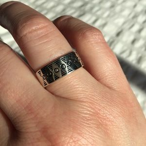 Sterling Silver Band Ring - Size 7